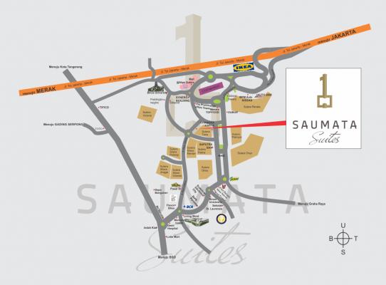 SAUMATA SUITES MAPS